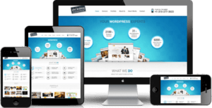 Fully responsive websites across platforms
